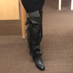 3bb79b34368 See By Chloe Shoes - See by Chloe Fringe otk boots